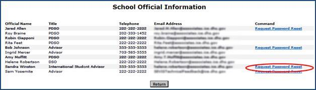 School Information Page
