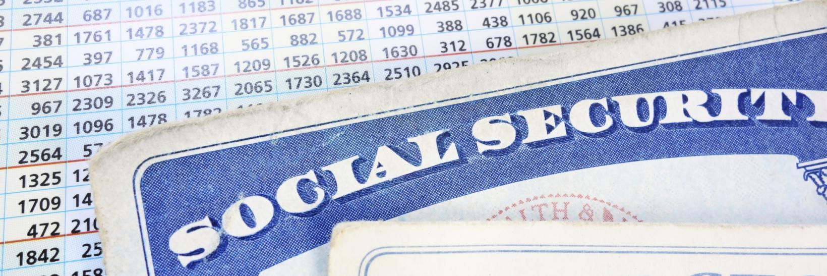 social security card and numbers