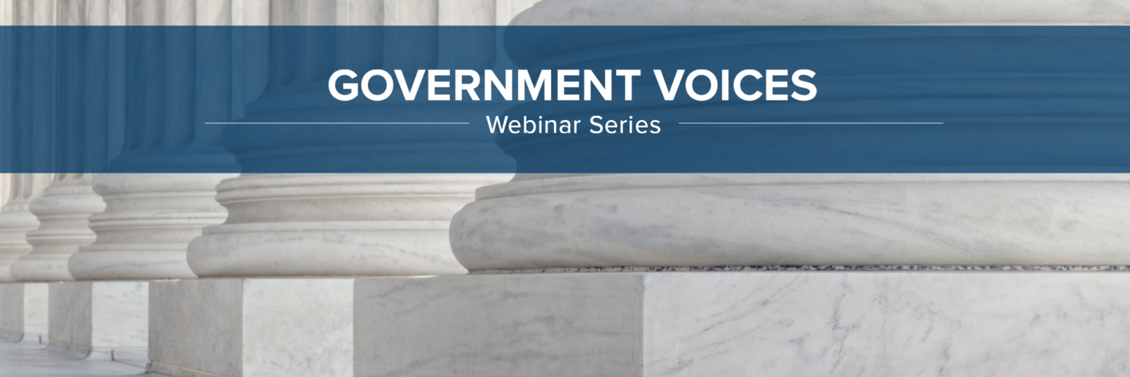 Government Voices Webinar