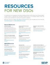 image for Resources for New DSOs