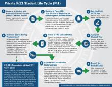 image of Private K-12 Student Life Cycle (F-1)